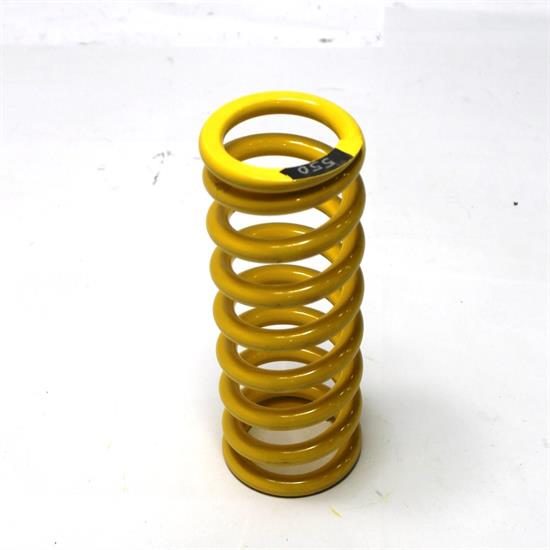 Garage Sale - AFCO Yellow 2-5/8 I.D. Coil-Over Spring, 10 Inch, 550 Rate
