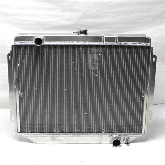 Garage Sale - AFCO 80252-S-NA-N Direct Fit 1966-67 Chevelle Alum Radiator, No Trans Cooler