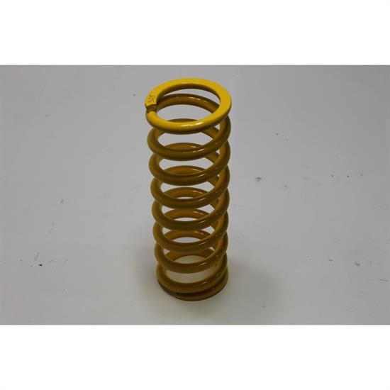 "Garage Sale - AFCO Yellow 2-5/8"" ID Coil-Over Springs, 10 Inch, 325 Lb"
