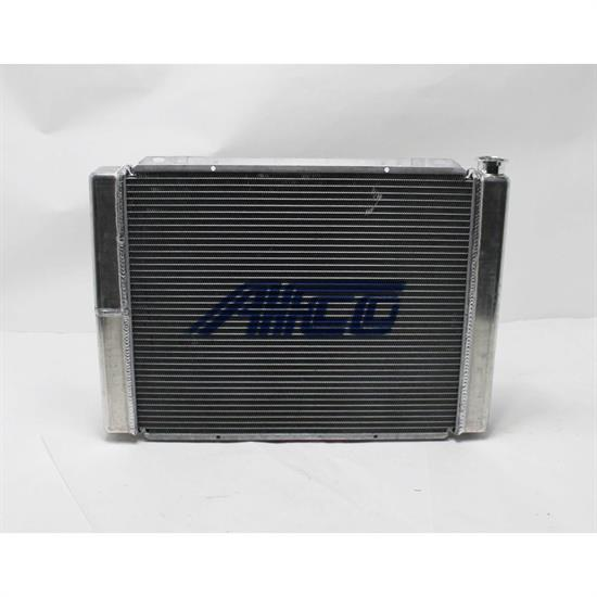 AFCO 80101NDP-16 Double Pass Radiator, 27.5 Inch, -16 AN R Side I