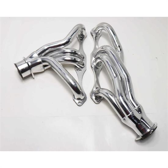 1969-1987 Small Block Chevy Shorty Headers, Manual Trans, AHC
