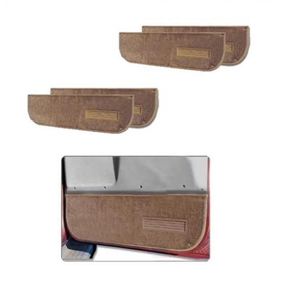 LUND 122008 Pro-Line Lower Door Panel Carpet Coffee Front, Ford