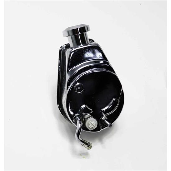 GM Power Steering Pump With Chrome Reservoir