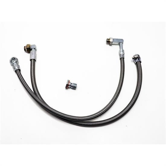 CUSTOM Power Steering Hose Kit for Mustang II Steering Rack to Early GM Pump