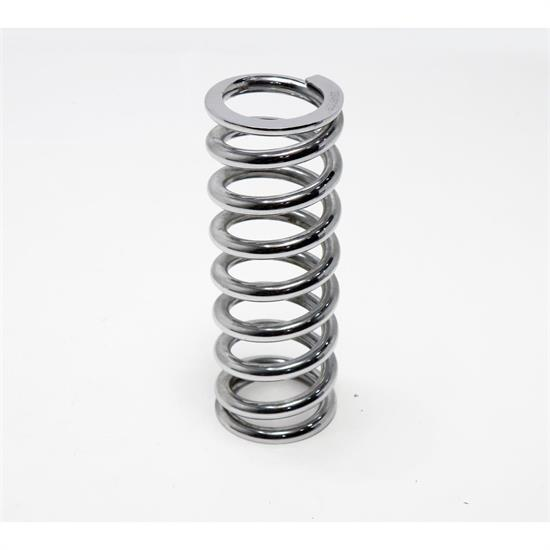 AFCO 23450CR 10 Inch Extreme Chrome Coil-Over Spring, 450 Rate