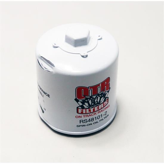 OTR Racing RS48101-2 Short Oil Filter with Internal Magnet, Chevy