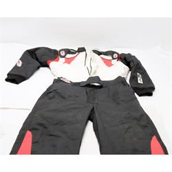 Bell Vision II Nomex Racing Suit Large, Black/White SFI 3.2A/5