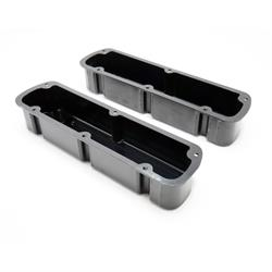 Mr Gasket 6842BG Finned Aluminum Valve Covers, 260-351W SBF