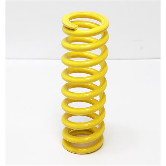 AFCO 2-5/8 ID Yellow Coilover Spring 600 lb Rate, 10 Height