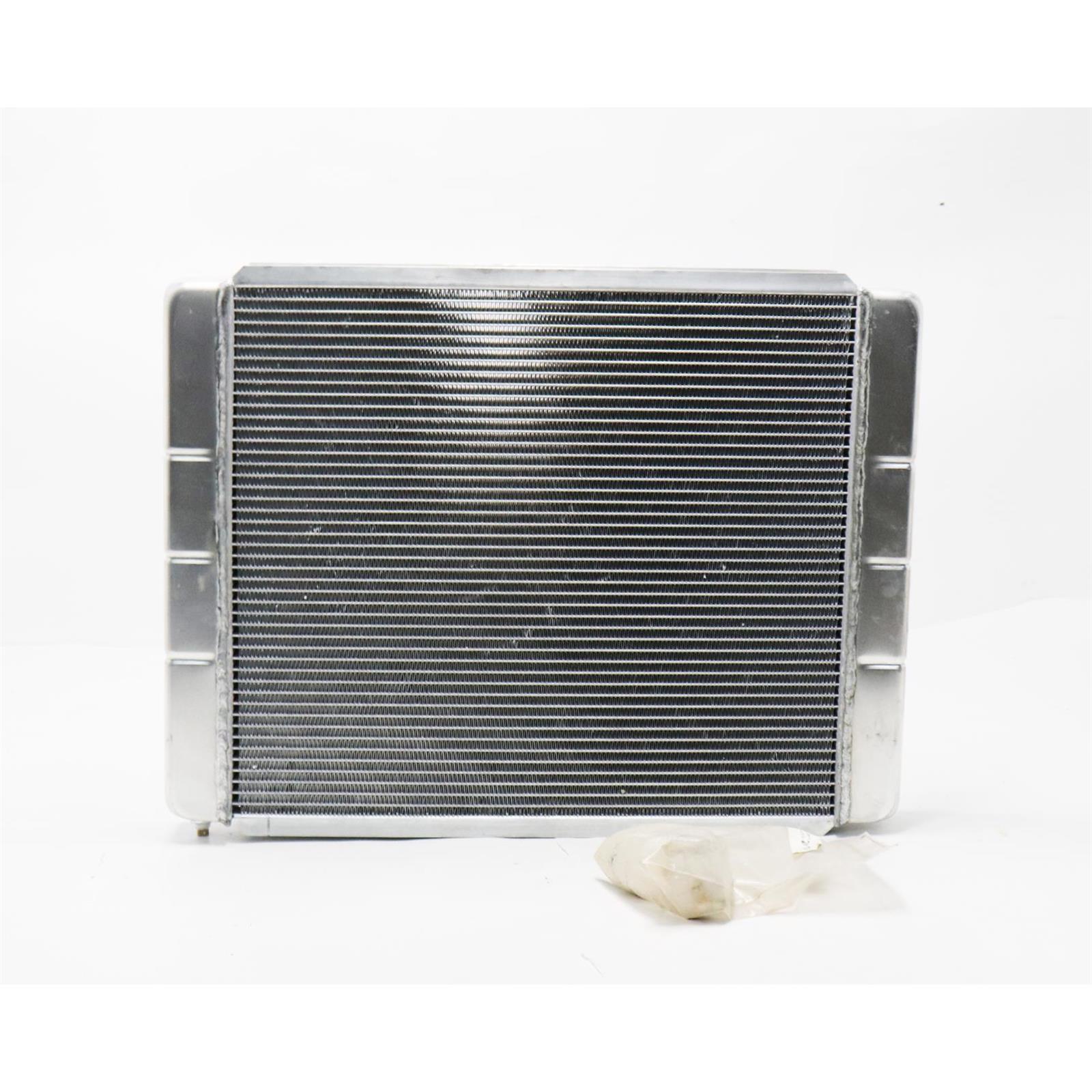 "2 Row Universal Fabricated Aluminum Racing Radiator For Ford Mopar 24/"" x19/"" x3/"""