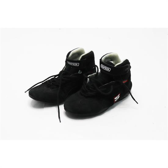 Simpson Racing Shoes >> Simpson Ad110bk Sfi 5 Suede Nomex Lined Racing Shoes