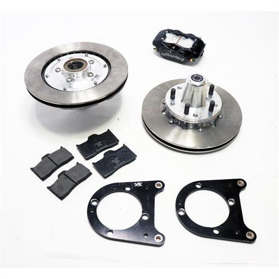 Wilwood 140-11013 FDLI Pro Series Front Disc Brake Kit 37-48 Ford