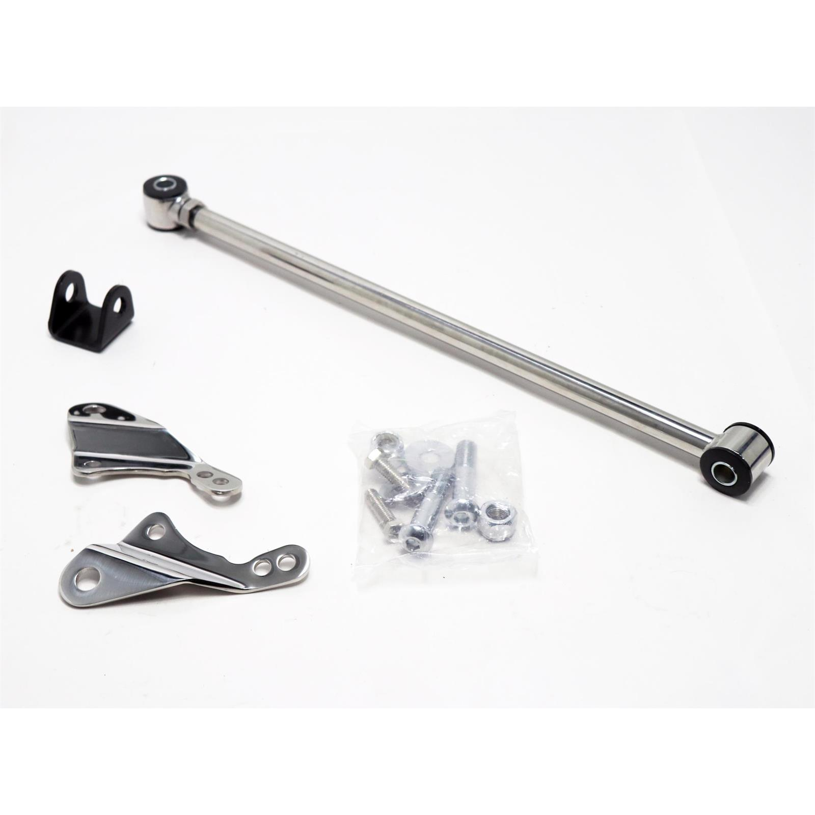 For Ford 8 /& 9 Inch Axle Polished Bolt-On Rear Panhard Bar
