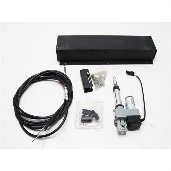 Push-Button Electrical Emergency Brake Kit with Cables parking ebrake gasser ez
