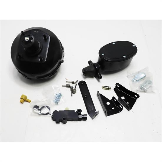 Speedway 9 in. Dual Power Brake Booster Kit for Chevelle/Camaro/N
