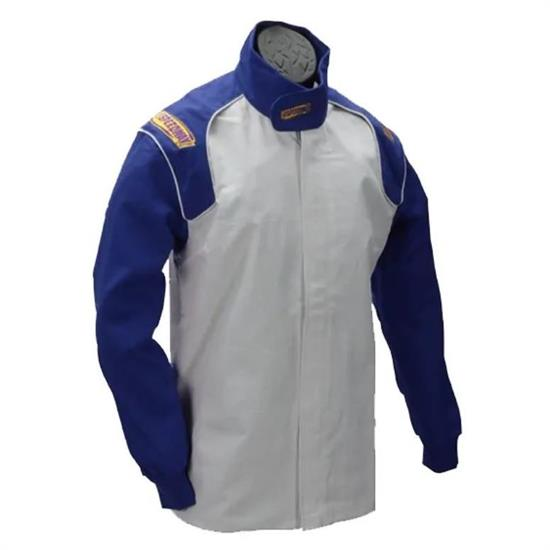 Speedway Blue Racing Jacket Only, SFI-1, XXL