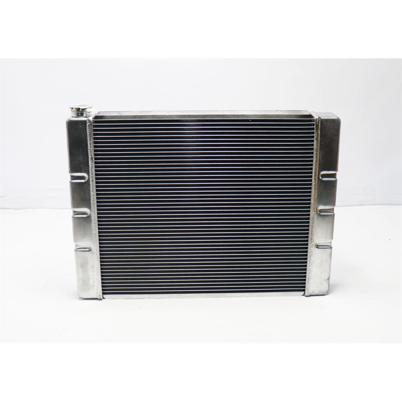 22 Inch Wide Chevy SBC//BBC Universal Aluminum Radiator
