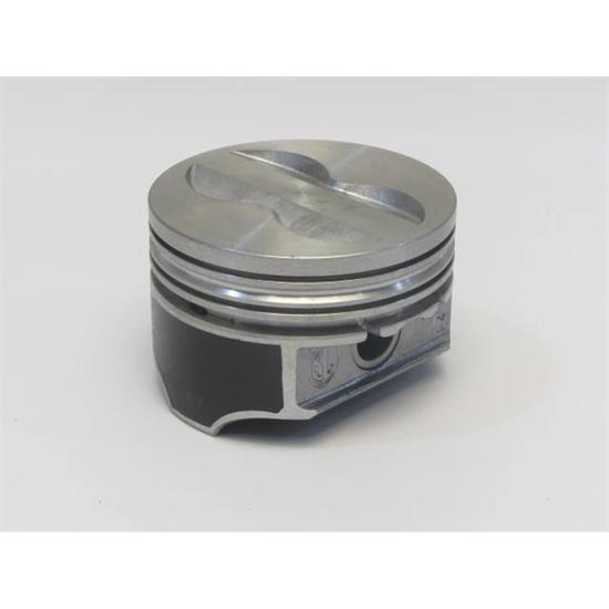 "for 350 SBC 4V Keith Black Piston Set 9901HC.030; Claimer 4.030/"" Bore Flat Top"