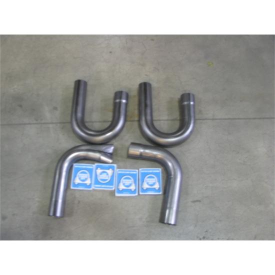 Side pipe hook up kit