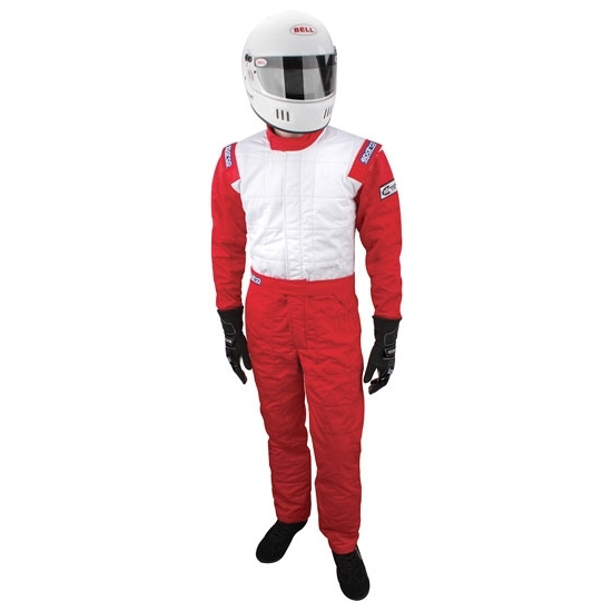Garage Sale - Sparco Jade Top Suit - 3.2A/5 SFI, Red, Medium