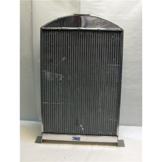 Garage Sale - AFCO '33-'34 Ford Aluminum Radiator, Chevy Engine