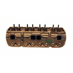 Garage Sale - Dart Iron SBC Flat Angled Assembled Platinum Cylinder Heads 200cc/64cc
