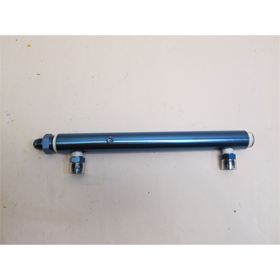 Aluminum Fuel Log for Holley Carburetor