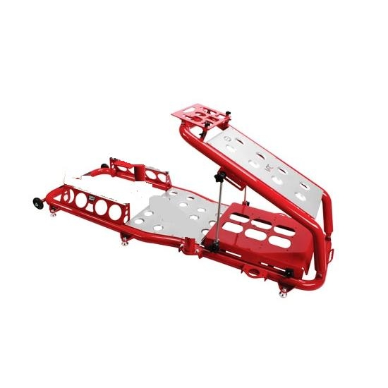 Virtual Racing Chair Frame, Red
