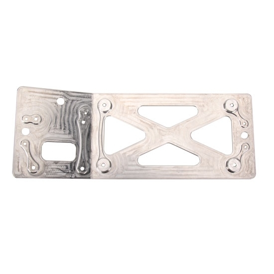 Eagle® MSD Billet Alum All-In-One Bent Ignition Plate