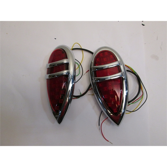 1938-39 Lincoln Zephyr LED Tail Lights