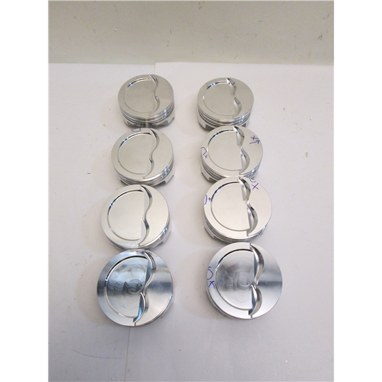 Garage Sale - Icon Chevy 350 Forged Pistons, Dish, 6 0 Inch Rod,  030 Over