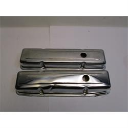 Garage Sale - Smal Block Chevy Chrome Valve Covers