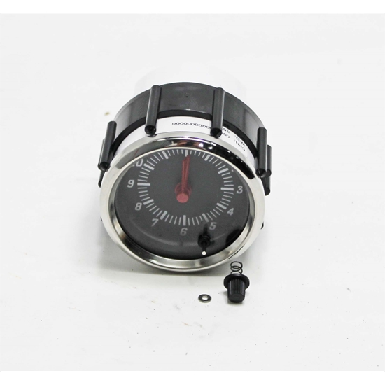 Garage Sale - Docs Kustom 930132 Omega Clock, 2-1/16, Black Face