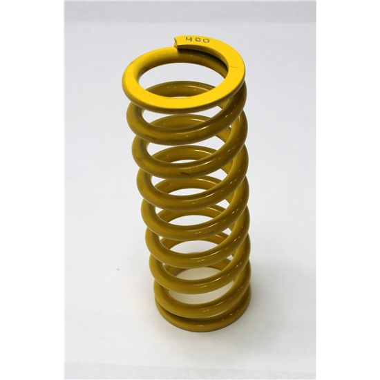 Garage Sale - AFCO Yellow 2-5/8 I.D. Coil-Over Spring, 10 Inch, 400 Rate