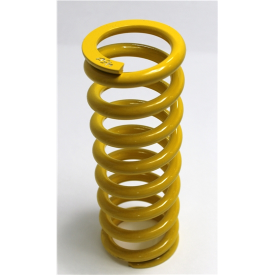"AFCO Yellow 2-5/8 I.D. Coil-Over Spring, 10 "", 425 Rate"