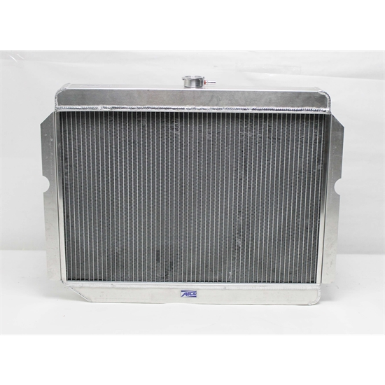 Garage Sale - AFCO Direct Fit '60-'78 Mopar A, B, E-Body Radiator, 26 x 22  Inch, Pass  Side Inlet