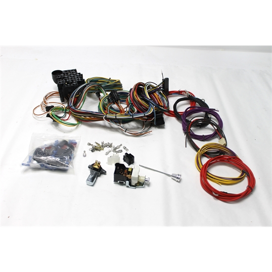 Universal Wiring Harness Reviews : Garage sale speedway universal circuit wiring harness