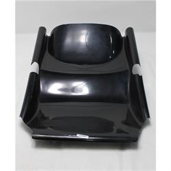 Outlaw Clean Air Black Nose, Gel Coat, Reduce Drag, Oval Track Ra