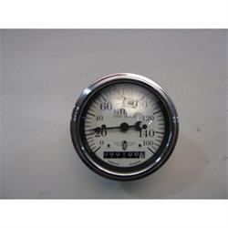 Garage Sale - Stewart Warner Electric Speedometer, White Face