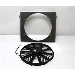 Garage Sale - Single 14 Inch Fan Shroud Combo, 15 W x 18 H