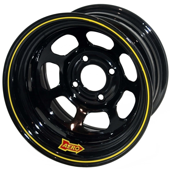 Garage Sale - Aero 55-104030 55 Series 15x10 Wheel, 4-lug, 4 on 4 BP, 3 Inch BS