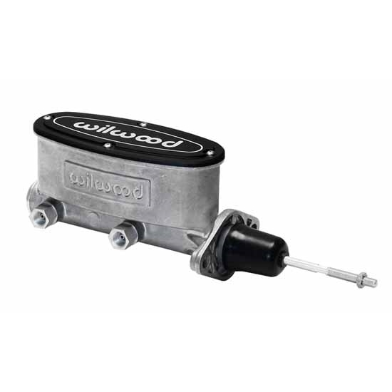 Wilwood 260-13375 H/V Tandem Master Cylinder w/Pushrod, 15/16 In.