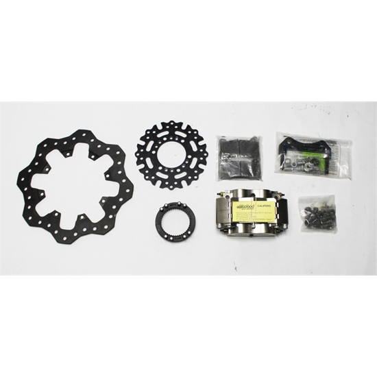 Garage Sale - Wilwood 140-11507 Billet Dynalite Radial Mnt Sprint Inboard Brake Kit