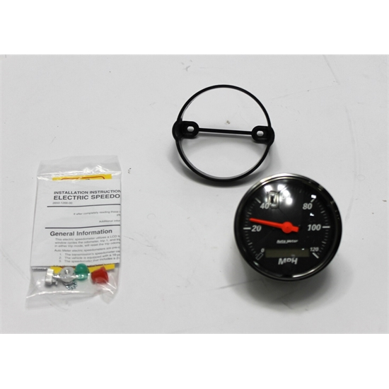 Garage Sale - Auto Meter 1488 Designer Black Air-Core Speedometer Gauge, 3-1/8 Inch