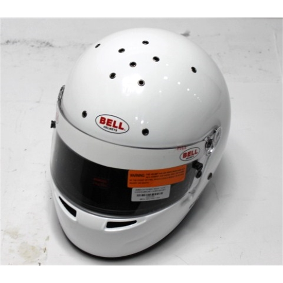 Garage Sale - Bell SA-2010 Pro Series GT.5 Touring Helmet, White, Size 7-3/4