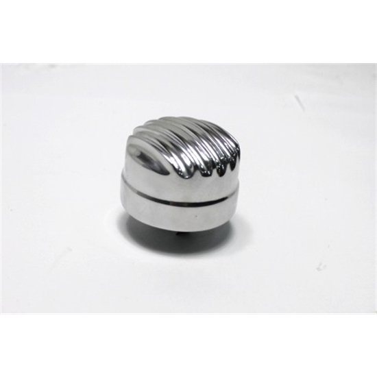 Polished 1 Inch OTB Gear 6807 Valve Cover Breather with Tube