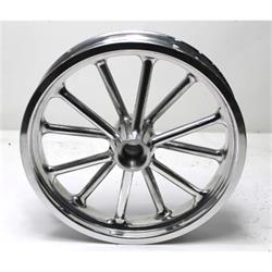 Garage Sale - Radir 18x3 Inch Spindle Mount Wheel, Polished