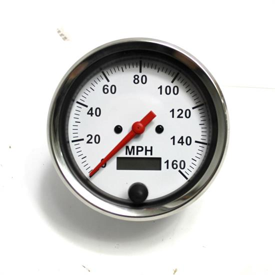 Garage Sale - Speedway Electric Speedometer, 3-3/8 Inch Diameter