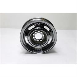 Garage Sale - Speedway GM Style 15X 4 Inch Rally Wheel, 4.5 & 4.75 Bolt Pattern, Chrome
