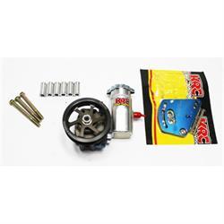 Garage Sale - KRC Ford Aluminum Power Steering Pump Kits, Serpentine Pulley